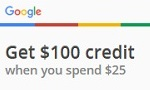 Advertise with Google and get $100 credit